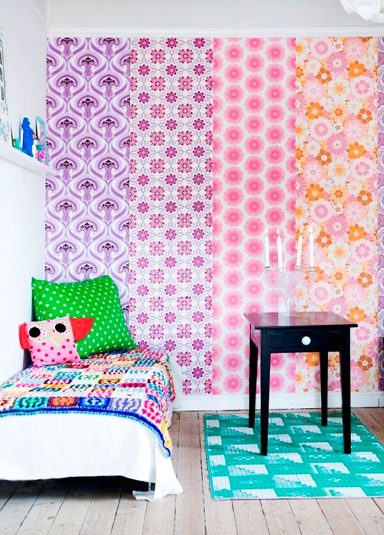 10 Creative Ways to Use Wallpaper Wallpaper Walls and Creative