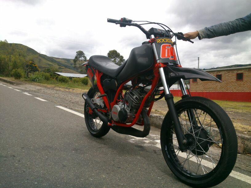 Yamaha Dt 125 Cafe Racing Motorcycle Mini Bike