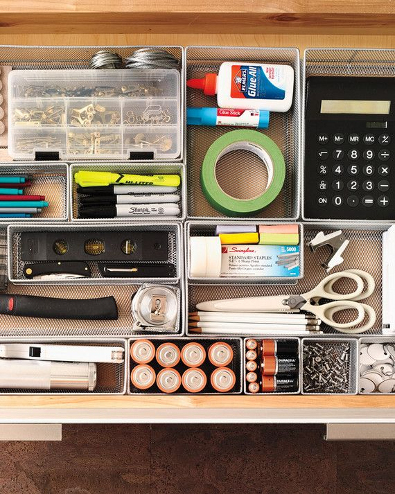 Martha S Top Kitchen Organizing Tips Junk Drawer Organizing Kitchen Drawer Organization Diy Drawer Organizer