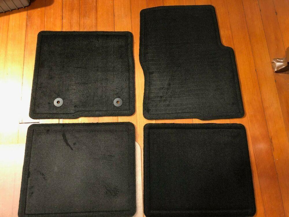 New Set Of 4 2008 2014 Ford F150 Carpet Floor Mats Black Oem Bl34 130d00 Dc3zhe Ford V 2020 G
