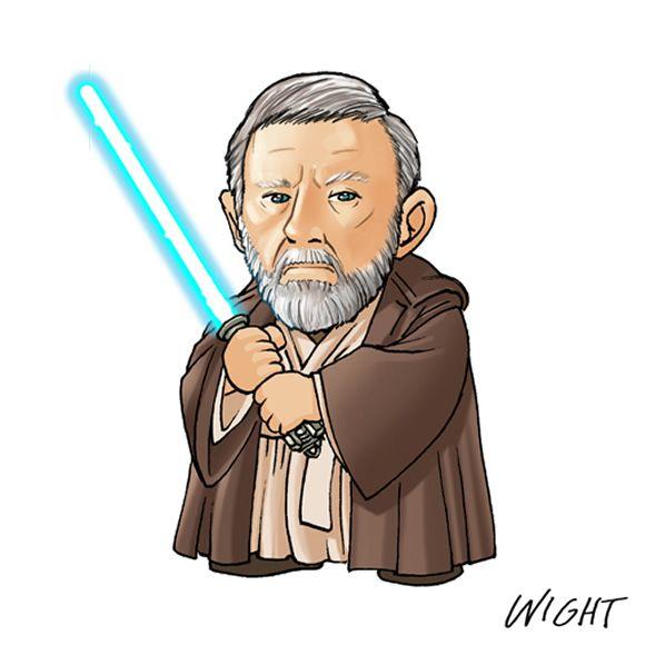 Alfabeto Star Wars: Ilustrações Dos Personagens