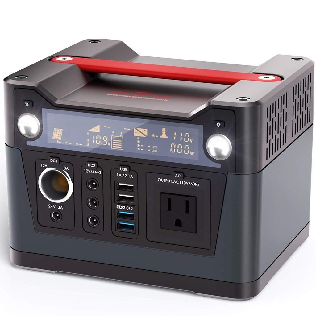 300w Portable Generator Lithium Portable Power Portable Generator Power Station
