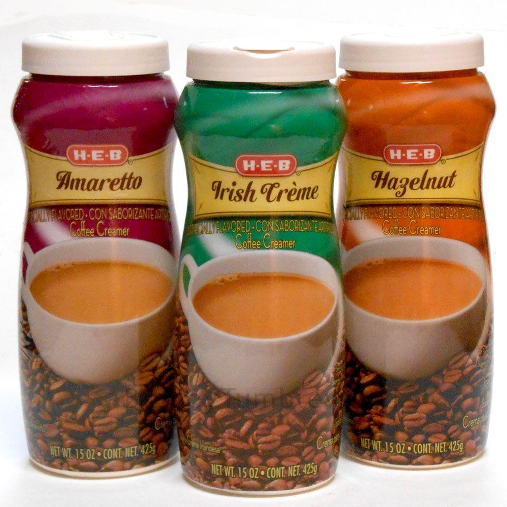 HEB Amaretto IrishCreme Hazelnut flavored dry mix