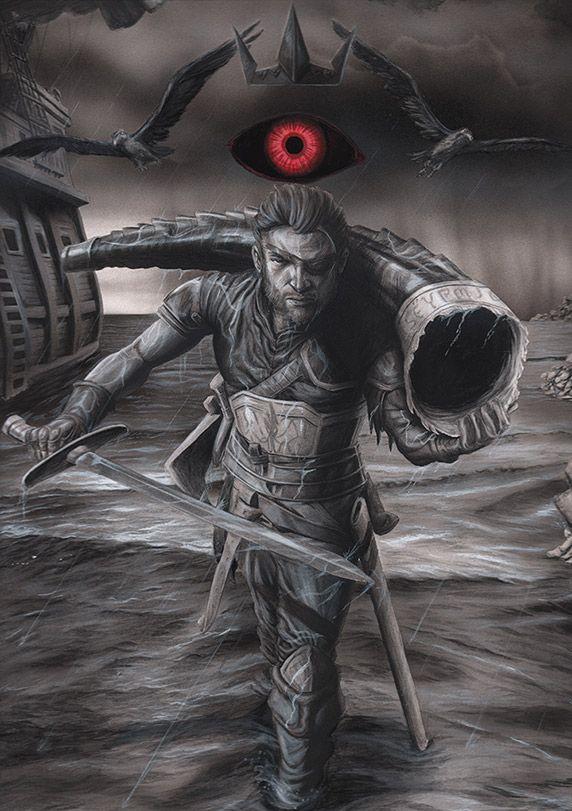 Euron Greyjoy - W.B. | Comics | Pinterest | Gaming, Songs ...