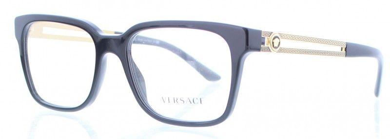 Lunette VueEt Gb1Accassoir Versace Noir De Ve3218 3ALq4j5R