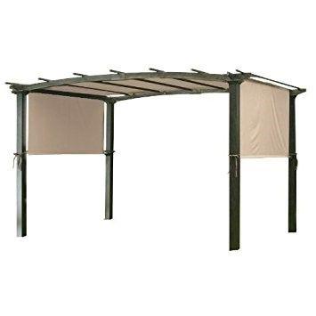 Garden Winds Universal Replacement Canopy For Pergola Structures Pergola Canopy Metal Pergola Patio Canopy