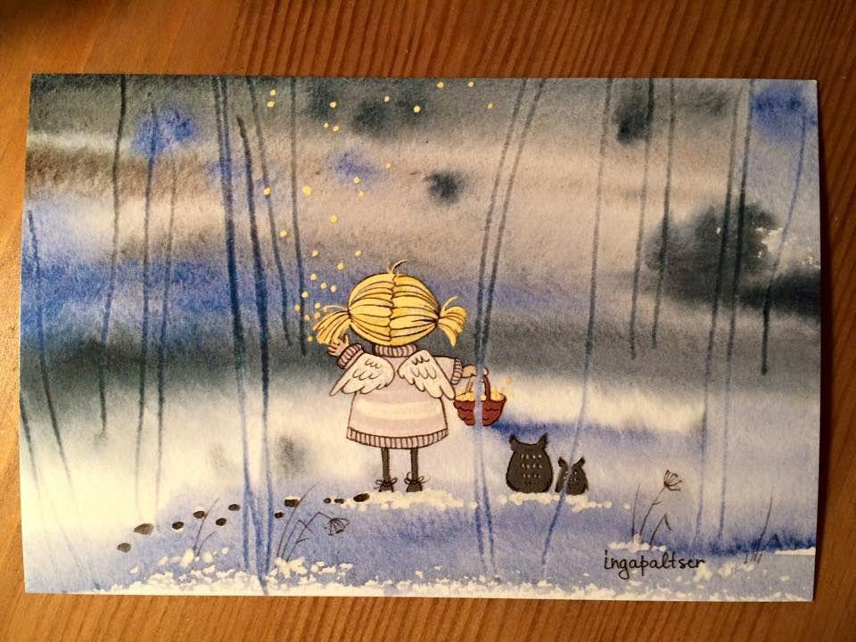 I looooove this postcard :-)