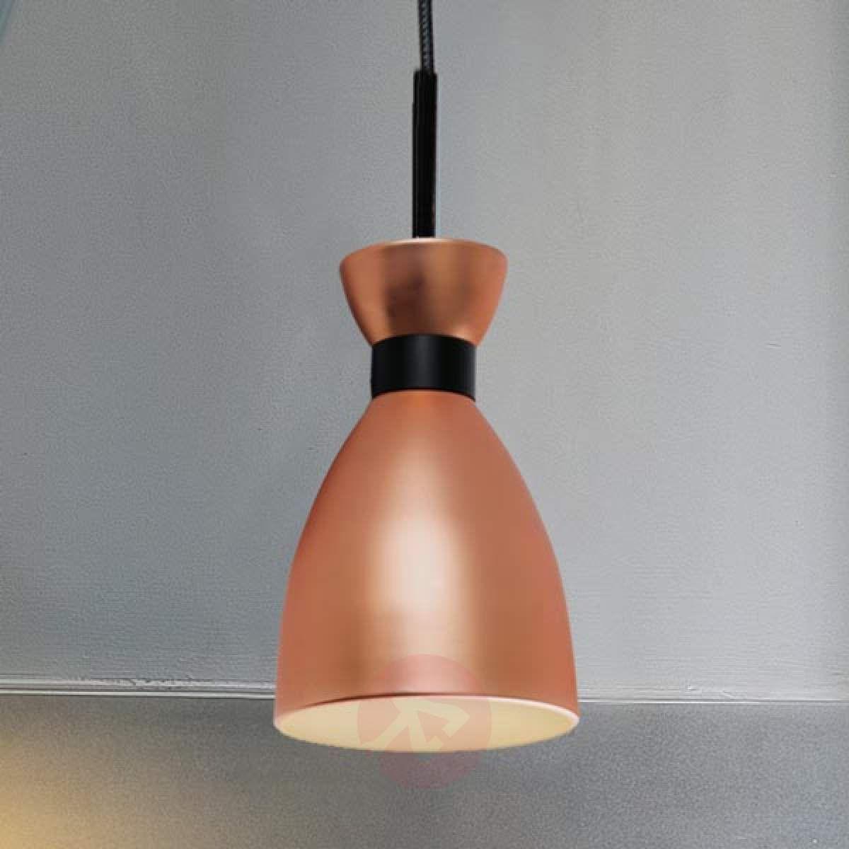 Stylowa Lampa Wisząca Retro Miedziana Lampy Wiszące W