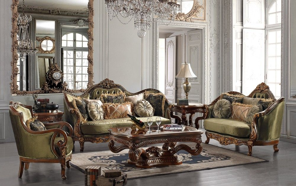 Living Room Furniture Victorian Style victorian sofa styles   santorini victorian style fabric sofa set