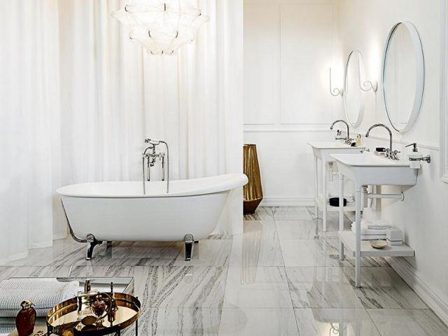 Salles de bains rétro : 10 photos pour vous inspirer   Salle de ...