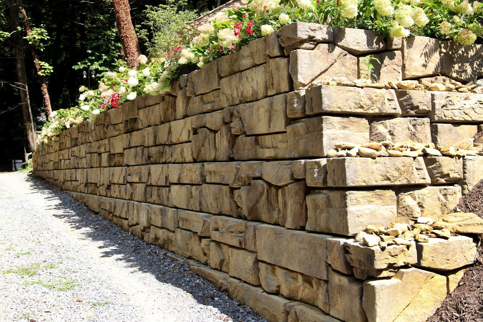 Verti Block Retaining Wall Retaining Wall Construction Wall Systems