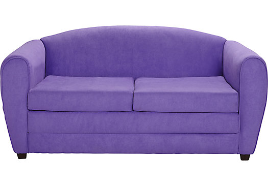 Arezzo Purple Sleeper Sofa 29500 Sleeper Sofa 58W x 31D x 29H