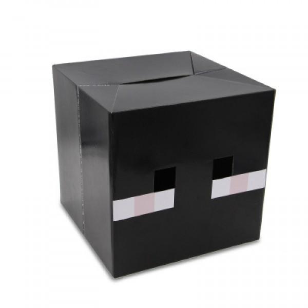 Minecraft Creeper Head Costume Cardboard 12x12x12 Inches Enderman Minecraft Mask Minecraft Bat Cow