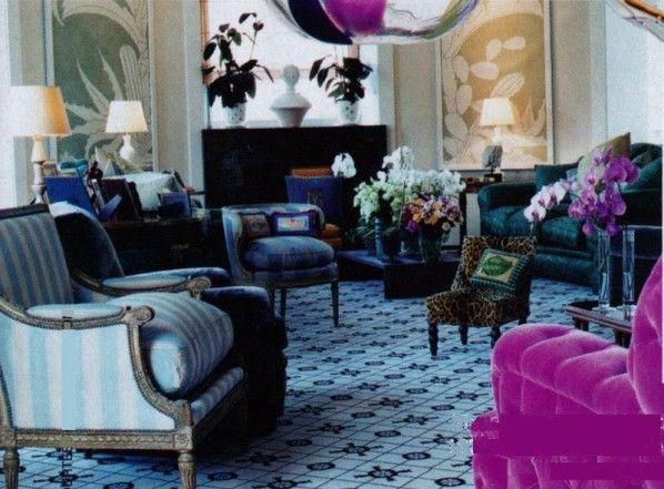 jacques grange appartement parisien dans le gout de madeleine castaing architecture decor. Black Bedroom Furniture Sets. Home Design Ideas