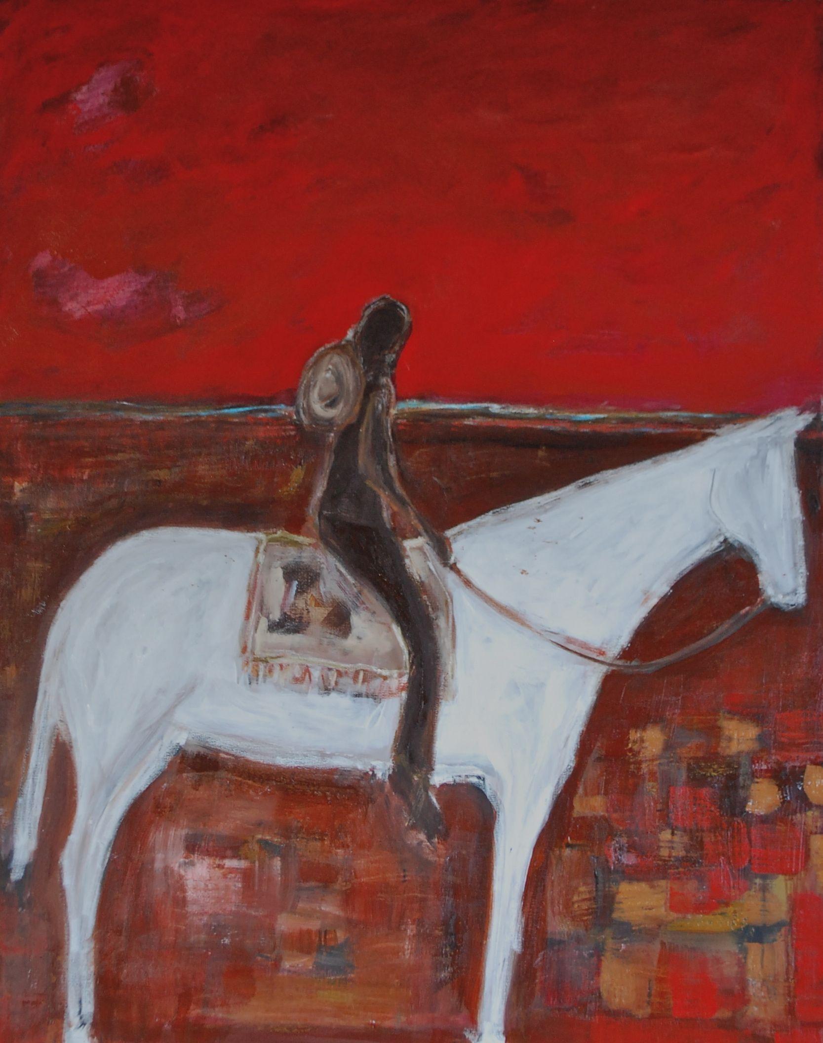 """Red Desert"" by Karen Bezuidenhout www.karenbezuidenhout.com"