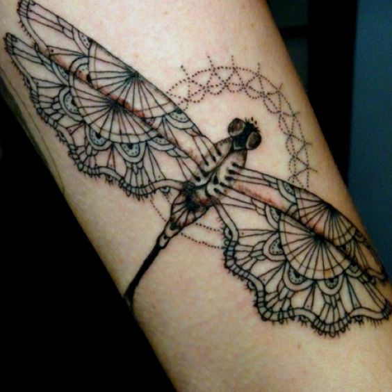 b2453a446 Dragonfly Tattoos for Men | tattoo ideas | Insect tattoo, Dragonfly ...