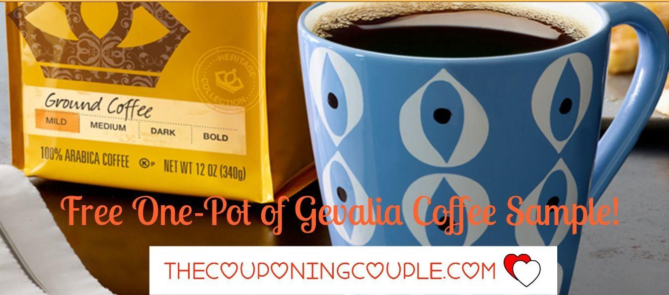 FREE Sample! One Pot of Gevalia Coffee! Gevalia coffee