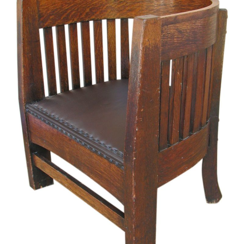 Plail Brothers Barrel Back Chair F134   Joenevo