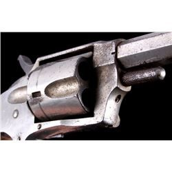 Hopkins Allen Gwtr 32 Revolver Mountain Eagle Revolversingle