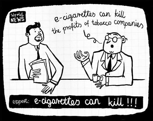 It takes a great deal of money to misinform an entire planet. What corporations benefit if people keep smoking? Think about it.