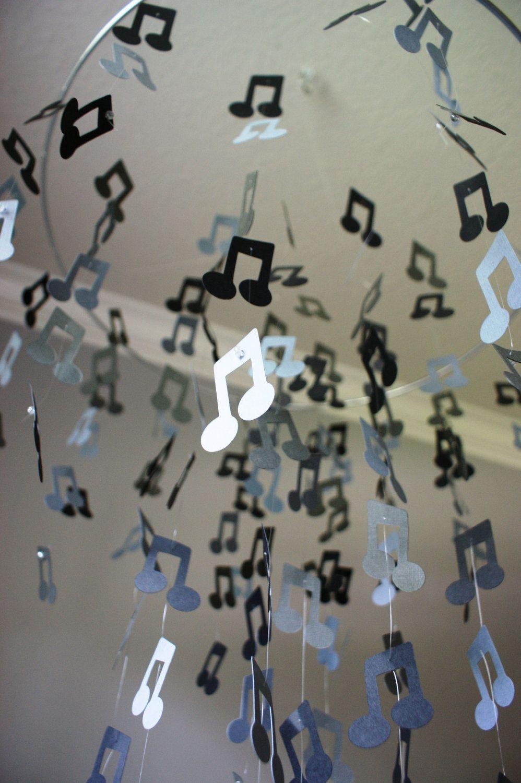 Musical note chandelier cumple de ale pinterest chandeliers musical note chandelier mozeypictures Image collections