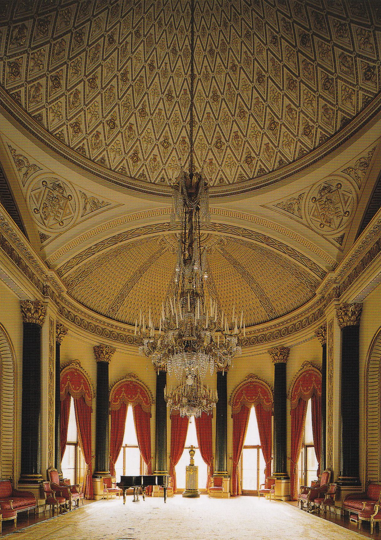 Music Room Buckingham Palace. Royal baptisms take place here