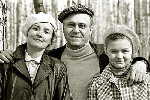 Семейные фото известных советских актёров в 2020 г ...
