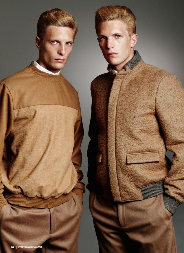 ck002.png Chris Moore, Travis Bland, Mark & Jon Norris Don Calvin Klein for Essential Homme