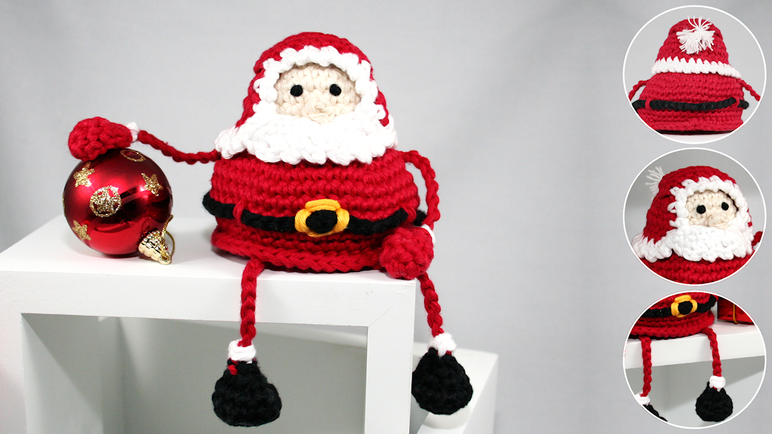 Weihnachtsmann Häkeln Anleitung Für Einen Knuffigen Santa Claus