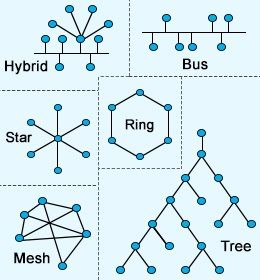 Different Types of Network Topologies