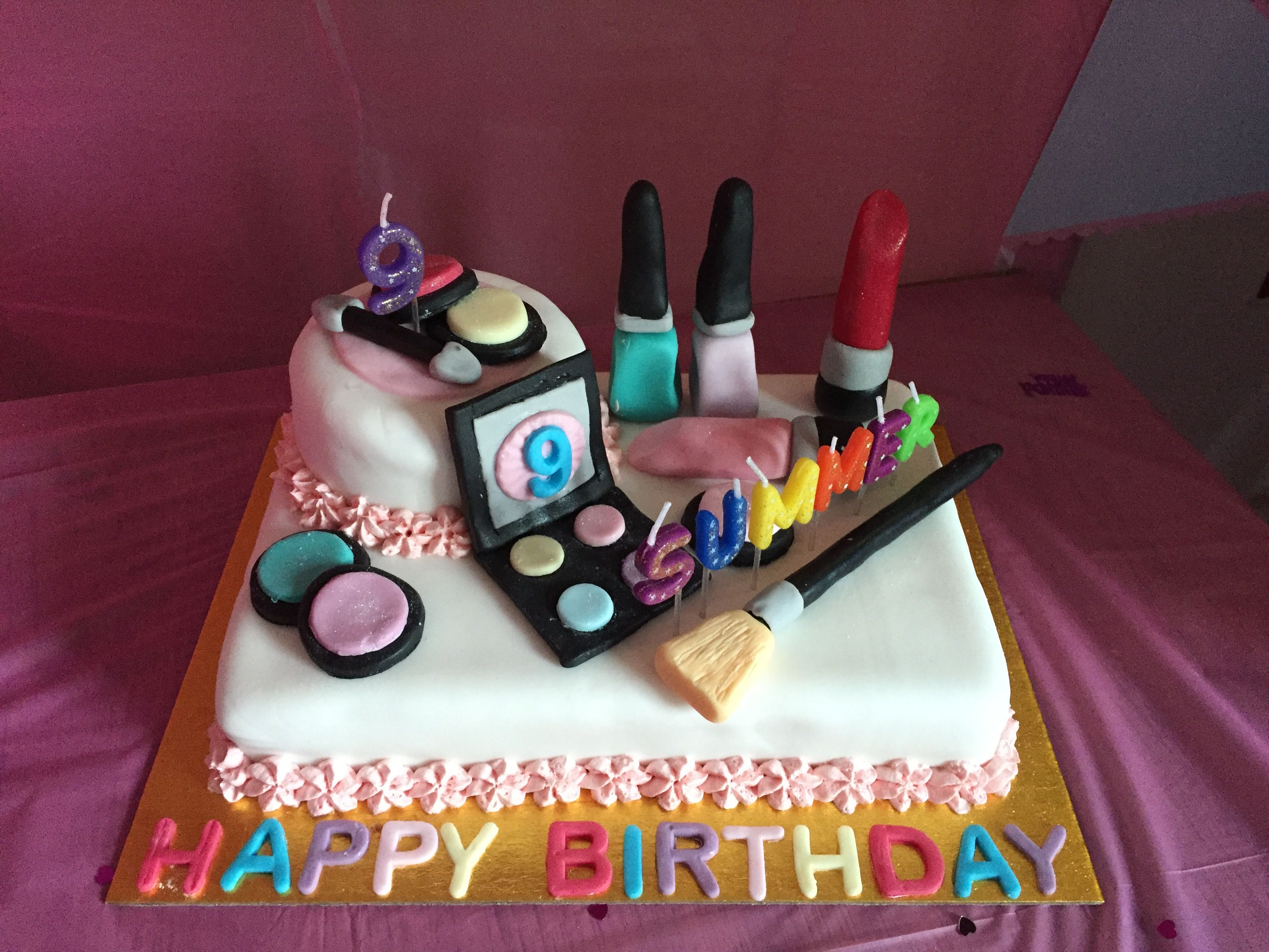 A very special cake for a very special little lady...my nieces ...