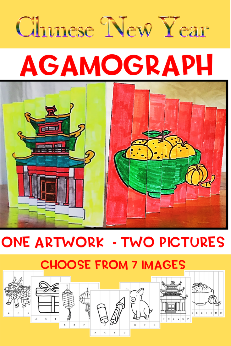 Chinese New Year Agamograph 50 Pages Video Chinese New Year