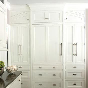 Hidden Refrigerator, Transitional, kitchen, Kitchens by Eileen
