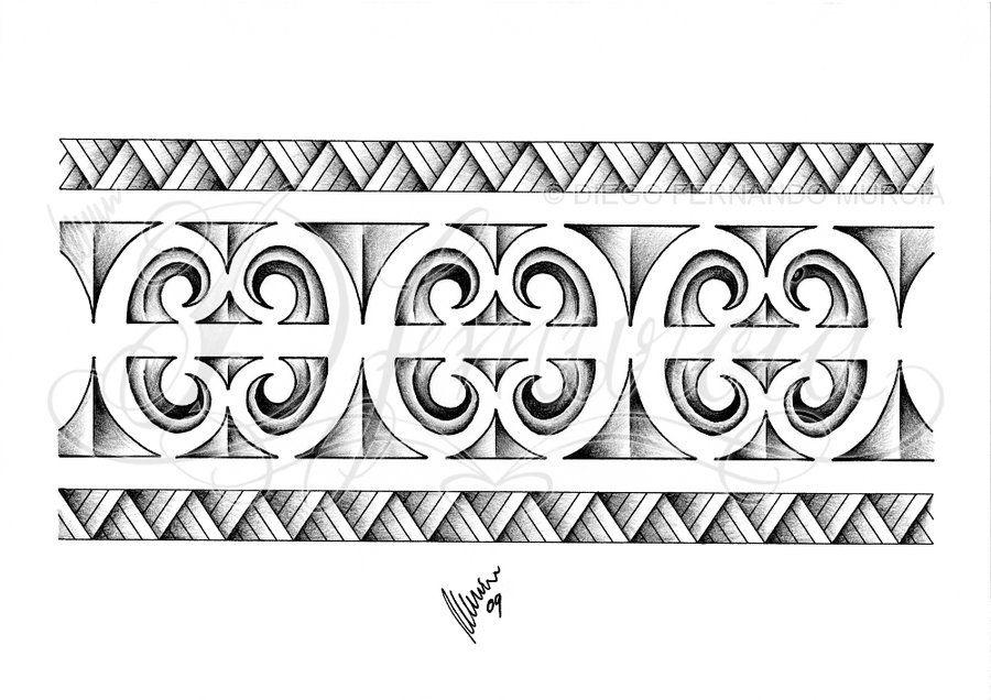 Maori Tattoo Armband: Polynesian Armband 02 By Dfmurcia On DeviantArt