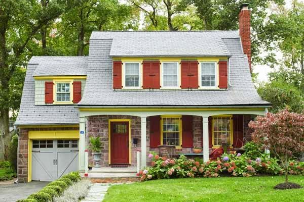 Vintage Farmhouse A Dutch Colonial House Ideas Dutch