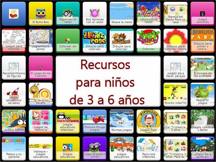 Recursos para 3 a 6 a os infantil pinterest a os infantiles y juego - Aprender ingles en un mes ...