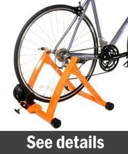 32acdec998 Conquer Indoor Bike Trainer Portable Exercise Bicycle Magnetic Stand ...