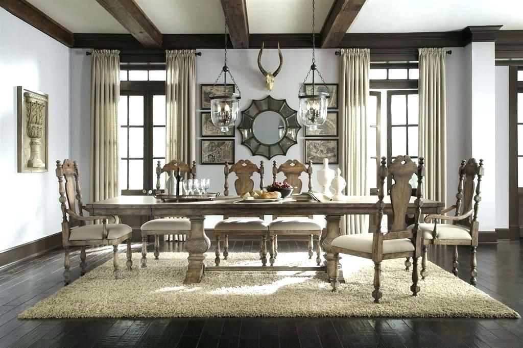 Casual Dining Furniture Universal Bolero Dining Table Conventional Universal Furniture B Round Dining Room Sets Farmhouse Dining Rooms Decor Dining Room Design