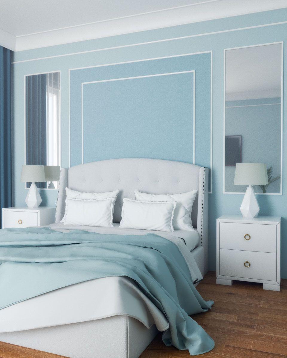 Classic Light Blue Bedroom Light Blue Bedroom Blue Bedroom Walls Blue Bedroom Decor