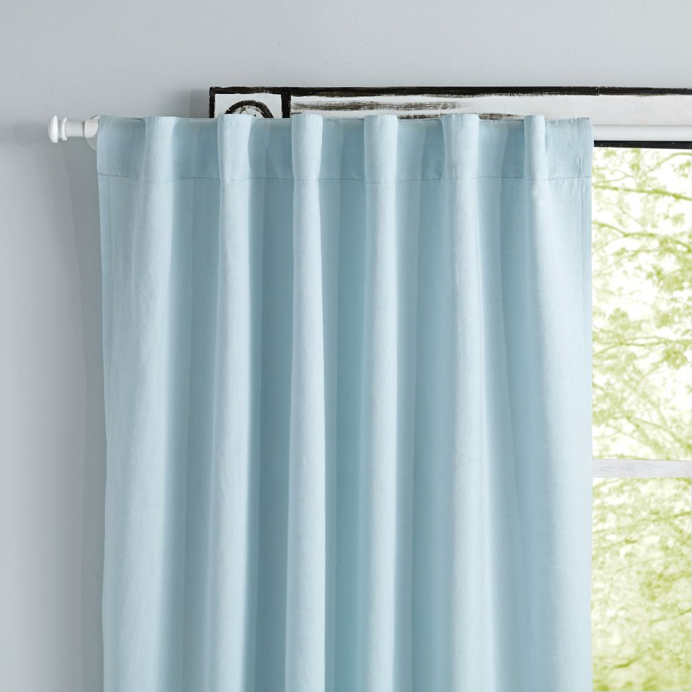 Fresh Linen Curtains Light Blue Light Blue Curtains Blue