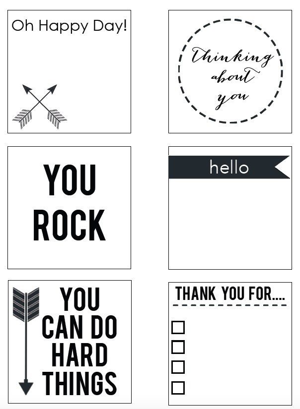 Printable Post It Notes Products I Love Notes Template