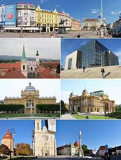 Zagreb Wikipedia The Free Encyclopedia Zagreb Beautiful Places Countries Of The World
