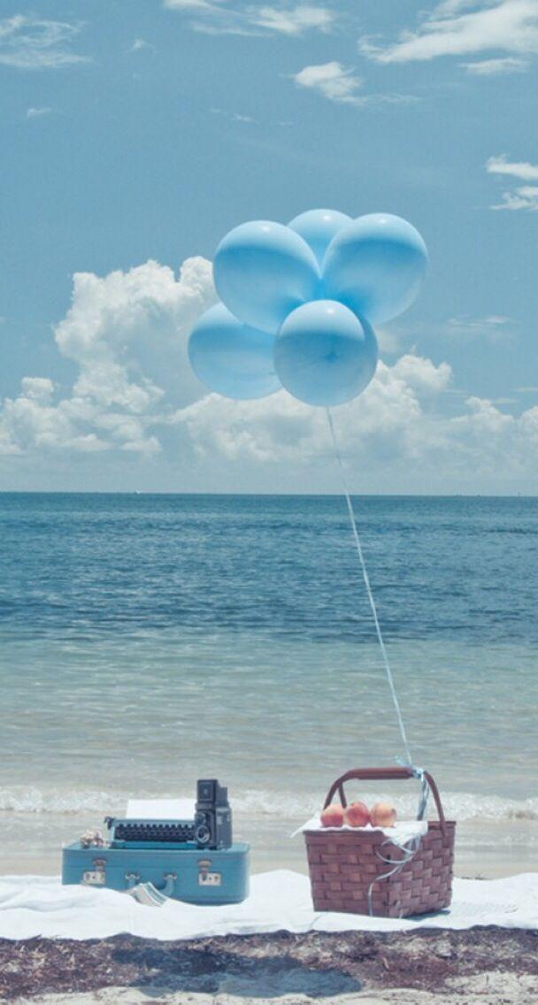 картинка отпуск с шариками если потолочной поверхности