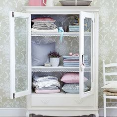 french linen cabinet - Google Search | French Mediterranean ...
