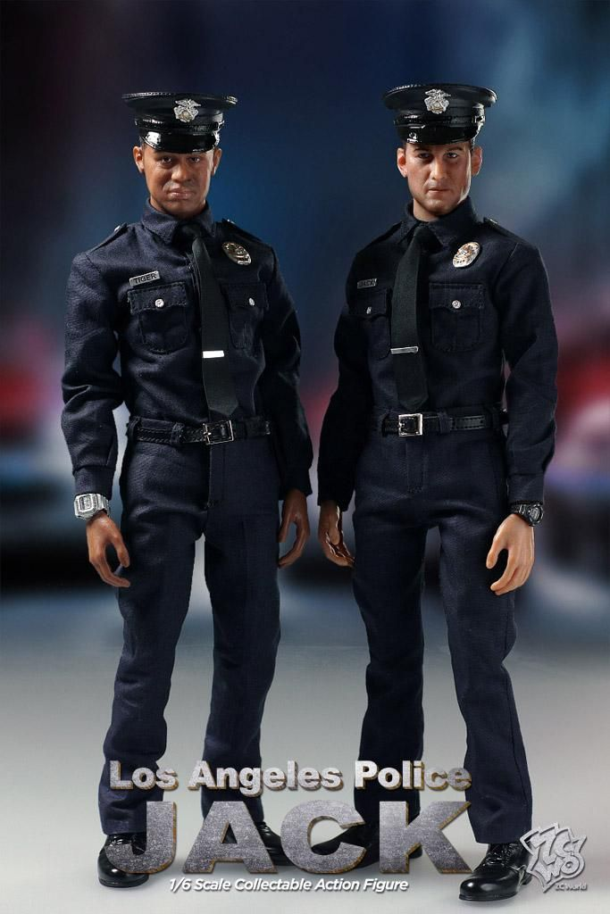 Jack Los Angeles Police Zcworld Male Doll African American