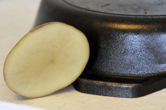 Remove Rust The Natural Way With A Potato Diy Home Garden