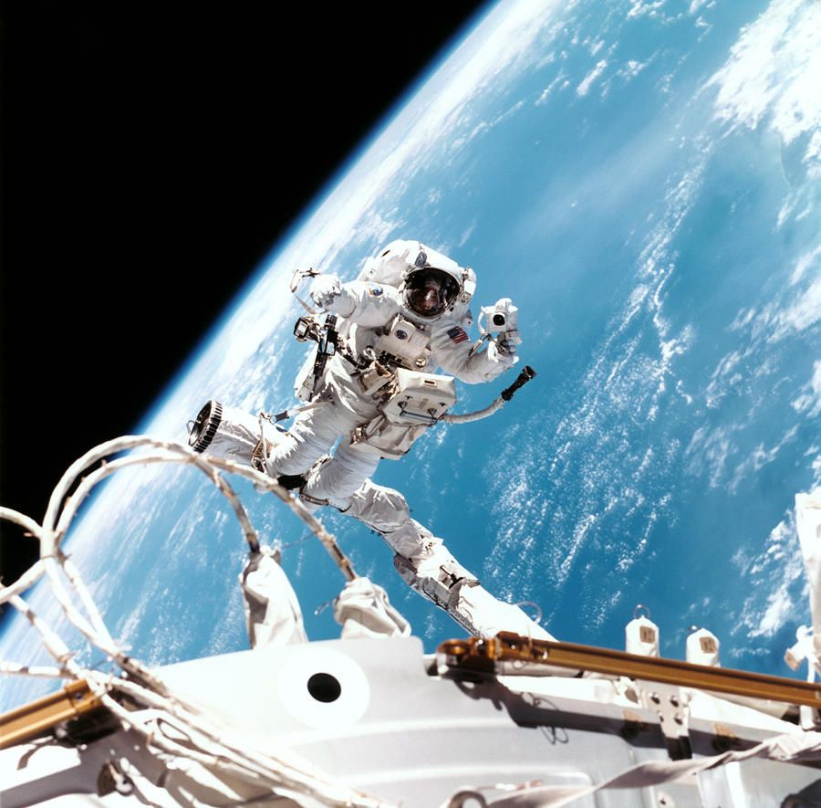 NASA Space Walk - Pics about space