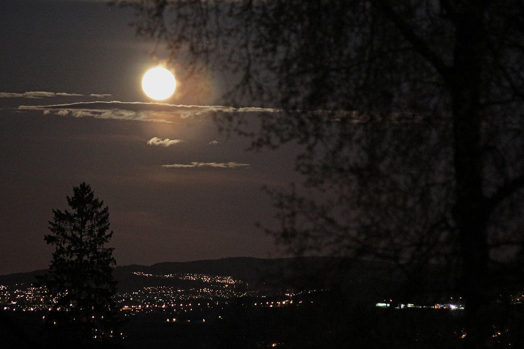 Last weekends supermoon