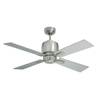Illumine Zephyr 46 in. Brushed Steel Indoor Ceiling Fan-CLI-EMM028229 - The Home Depot