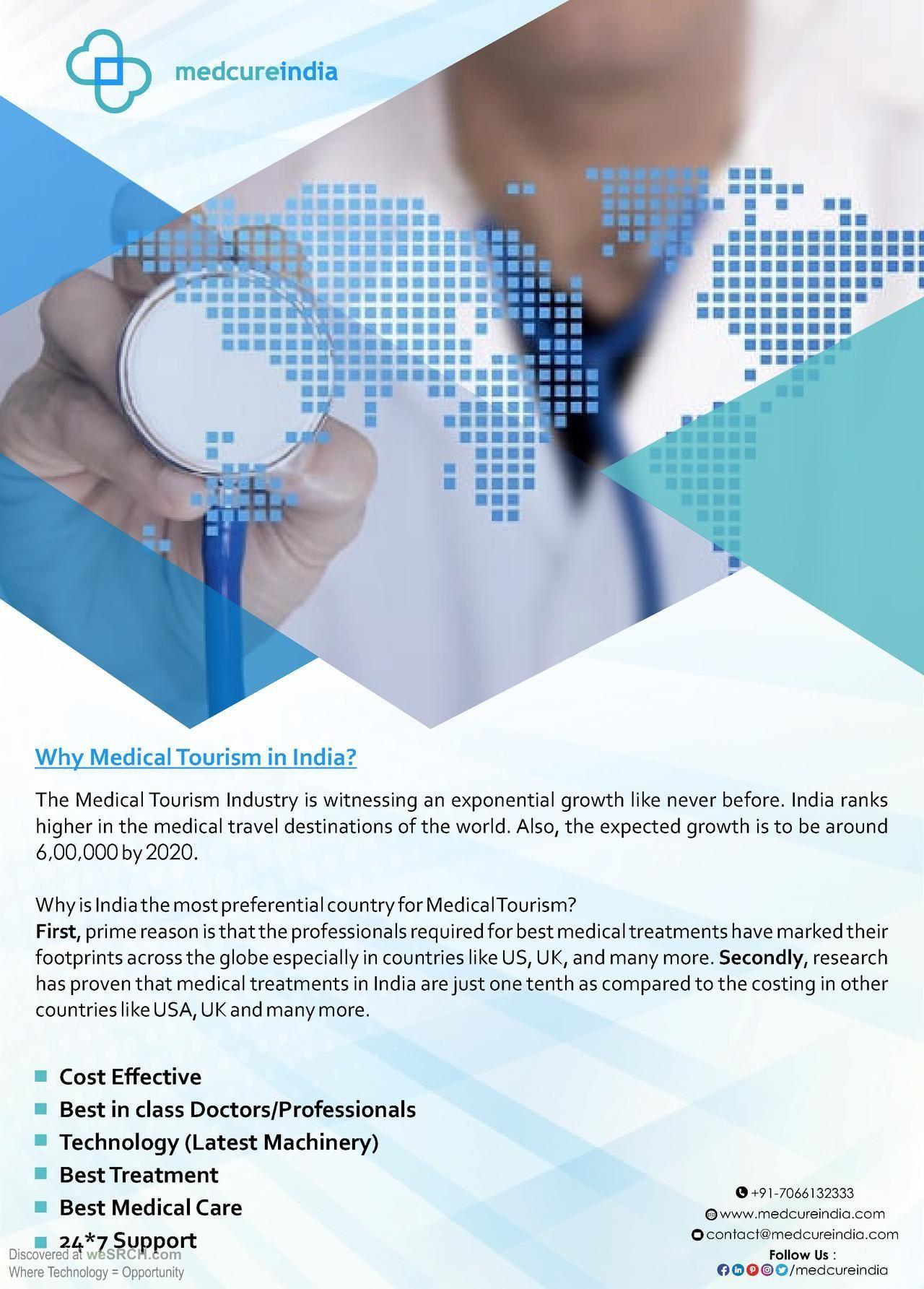 Medical tourism services India | Medcureindia ...
